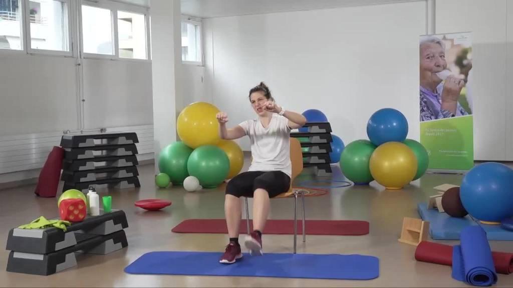 «Gymnastik im Wohnzimmer» vom 24. Februar 2021