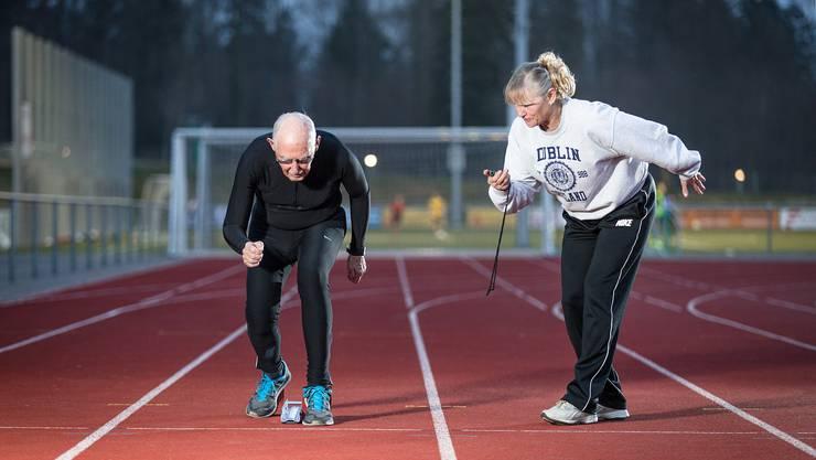 Charles Eugster will auch noch mit über 95 Jahren hoch hinaus.