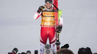 Marcel Hirscher - in Are zum dritten Mal Slalom-Weltmeister geworden