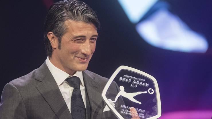 Murat Yakin wurde Trainer des Jahres 2017