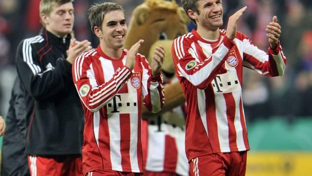 Philipp Lahm bleibt wie Thomas Müller bei den Bayern