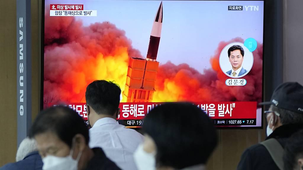 Nordkorea feuerte neu entwickelte Hyperschallrakete ab