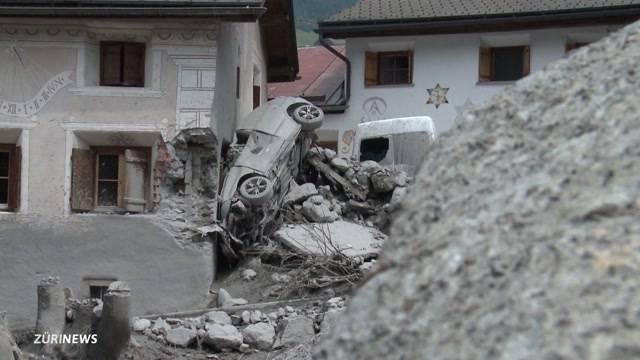 Schlammlawine: Ferienlager muss evakuiert werden