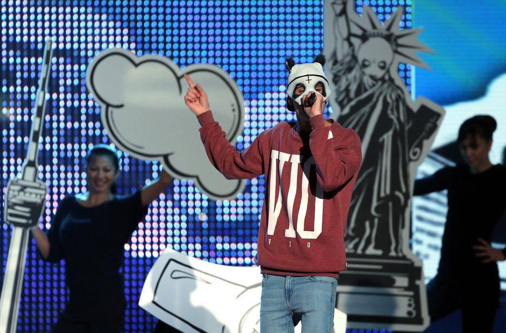 Rapper Cro in Bildern (© Keystone/getty)