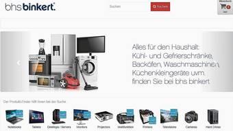 Die BHS Binkert Schweiz GmbH hat mit einem grossen Sortiment an Elektro- und Elektronikwaren geworben. Doch der Onlinehändler enttäuschte viele seiner Kunden.