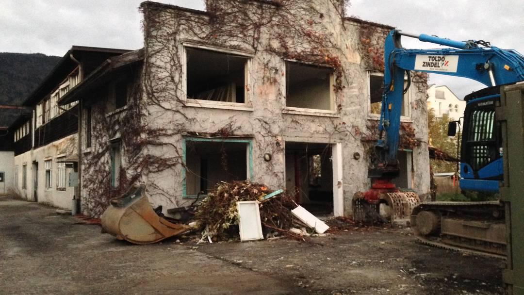 Die einstigen Farner Werke Grenchen weichen einer geplanten Wohnüberbauung