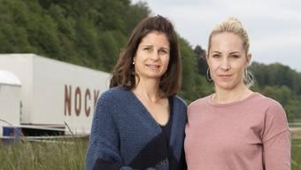 Franziska (links) und Alexandra Nock: «Der Zirkus war unser Leben. Er wird uns sehr fehlen, vor allem das Leben auf Achse.»