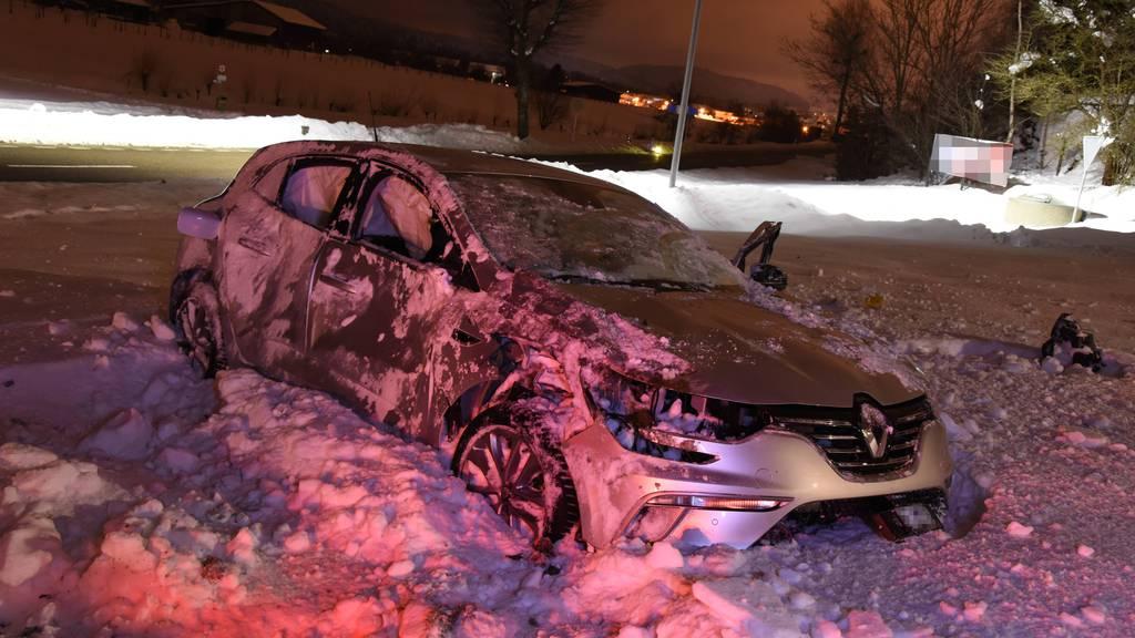 Auto mehrfach überschlagen – 26-Jähriger für fahrunfähig befunden