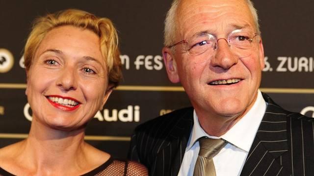 Elmar Ledergerber und seine Frau sind froh, dass sie ihren Hund wiederhaben (Archiv)