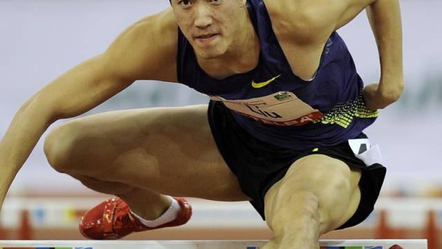 Liu Xiang Dritter über 60 m Hürden