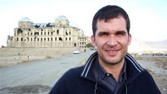 Möchte einen Beitrag gegen Folter leisten: Der neue UN-Sonderberichterstatter Nils Melzer, hier bei einem Einsatz mit dem Internationalen Roten Kreuz in Kabul, der Hauptstadt Afghanistans.zvg
