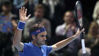 ATP Finals Roger Federer - Kevin Anderson (15.11.2018)