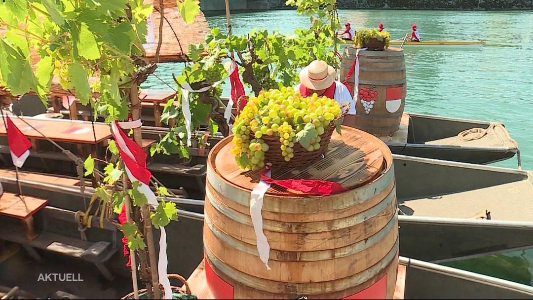 Feierliche Weinfahrt: Solothurn zu Gast in Vevey