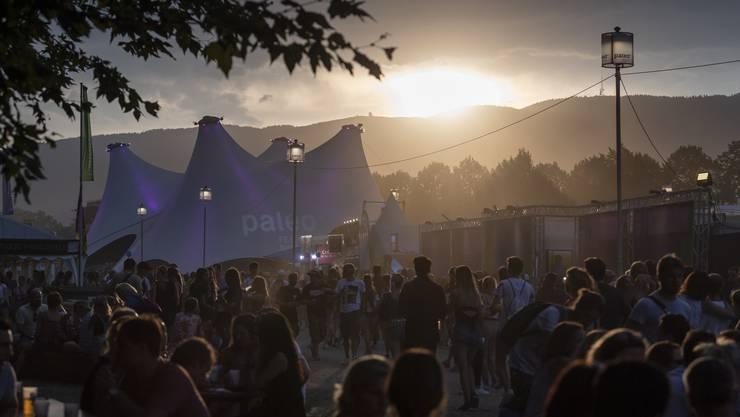 Beim Paléo-Festival ist auf dem Parking ein Feuer ausgebrochen. (Symbolbild)