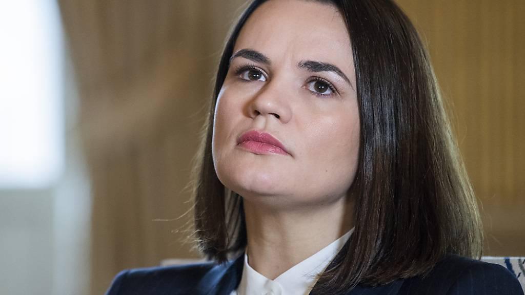 Tichanowskaja will mit internationaler Hilfe nach Belarus zurück