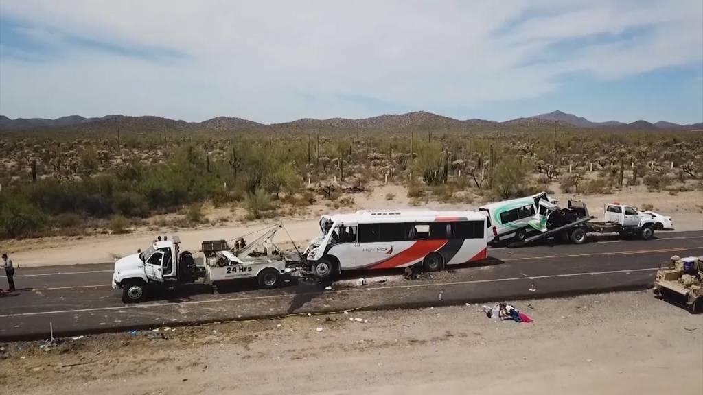 Nach Frontalkollision: 16 Tote bei Transport von Minenarbeitern