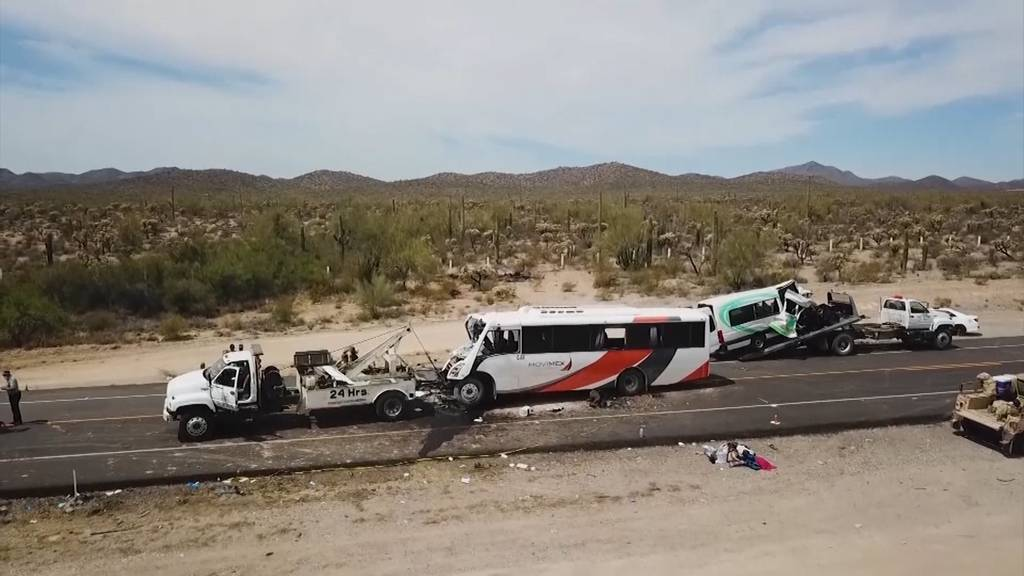Mexiko: Frontalkollision - 16 Tote bei Transport von Minenarbeitern