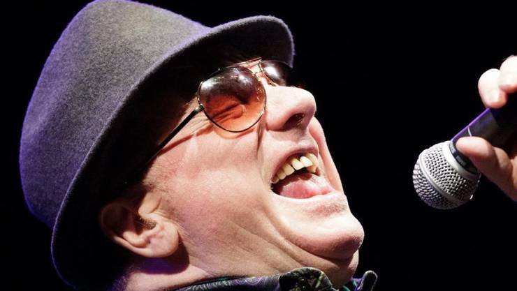 """Van Morrison (hier letzte Woche in Wien) wird bald zum """"Sir"""" geschlagen"""