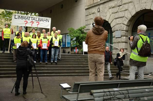 Über 1000 Unterschriften stammen von Stimmbürgern aus der Stadt Zürich.