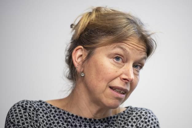 Die Zürcher Kantonsärtzin Christiane Meier am Mittwoch vor den Medien.