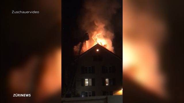 Festnahme nach Mehrfamilienhaus-Brand