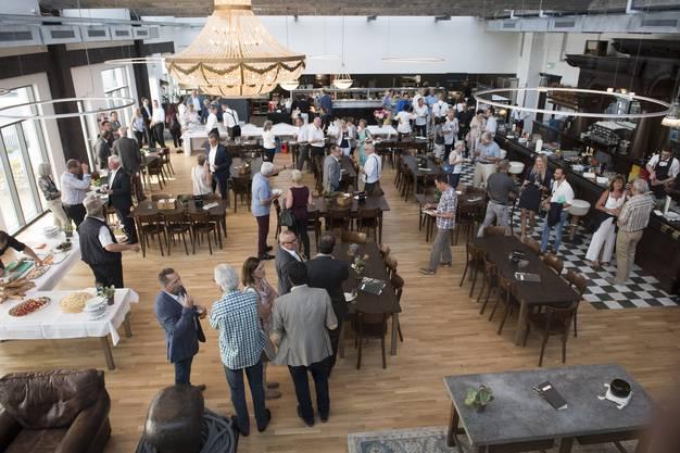 Eröffnung Brasserie Barracuda, Lenzburg, 16. Juni 2017.