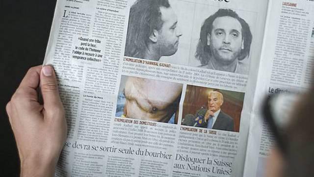 Genfer Zeitung druckt Gaddafi-Fotos ab