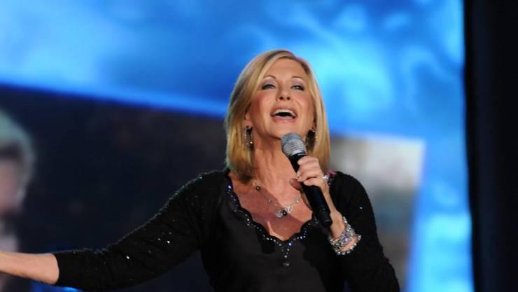 Olivia Newton-John musste wegen einer erneuten Krebserkrankung Konzerte absagen (Archiv)