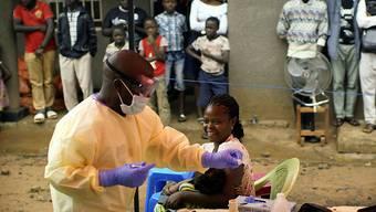 Impfaktion gegen Ebola in der kongolesischen Stadt Beni. (Archivbild)
