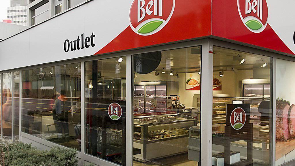 Bell kauft in Österreich zu: Outlet-Shop des Fleischverarbeiters in Basel. (Archiv)