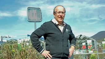 Peter Stirnemann (63), parteiloser Gemeinderat, ist fürs Ammannamt bereit.