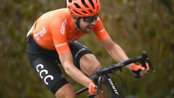 Nach einem über 20 km langen Soloritt gewann der Tscheche Josef Cerny vom Team CC die 19. Giro-Etappe solo