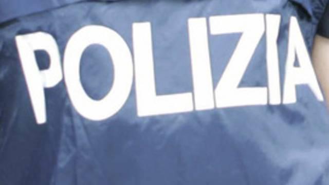 Schusssichere Weste der italienischen Polizei