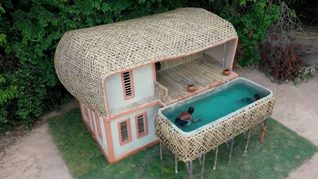 Diese Youtuber bauen Pools und Gebäude von Hand