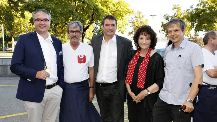 Remo Ankli, Roberto Zanetti, Christian Levrat, Bea Heim, Philipp Hadorn