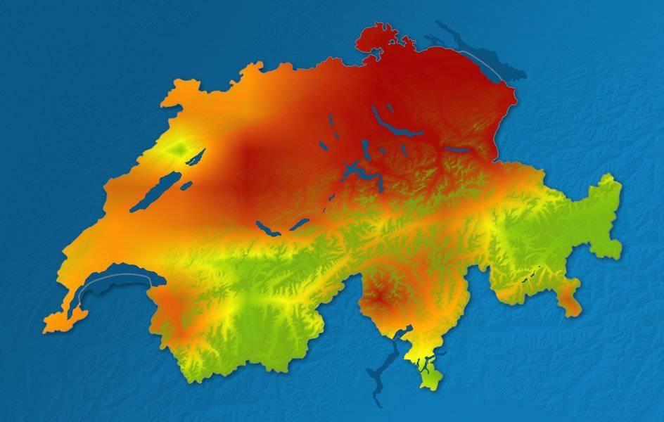 Die Pollenbelastung ist heute in der Ostschweiz besonders hoch. ©srfmeto