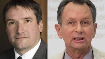 SP-Levrat (links) fordert FDP-  Müller zu einer Allianz für Bilaterale auf.