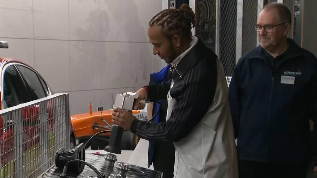 Schnellster Sir: Lewis Hamilton zum Ritter geschlagen