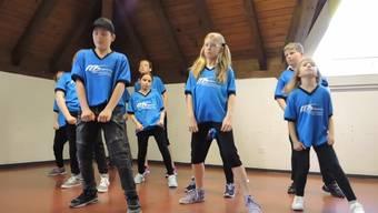 Grenchen: Hip-Hop-Kurs im Lindenhaus. Die Hauptprobe vor der Abschlussvorführung.