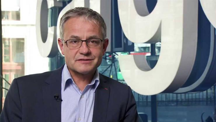 SBB-Cargo-Chef Nicolas Perrin kündigt an, dass bis in fünf Jahren rund 760 Stellen abgebaut werden.