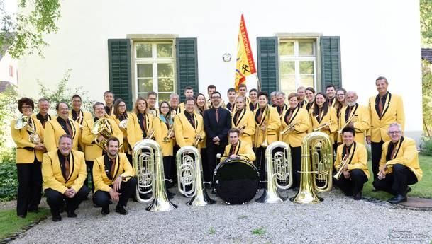 Aufnahme vom Bezirksmusiktag in Beinwil/SO Quelle: Markus Christ, Beinwil
