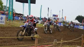 Spannende Rennen, anspruchsvolle und schnelle Piste: Das Jubiläums- Motocross in Muri wurde allen Erwartungen gerecht.