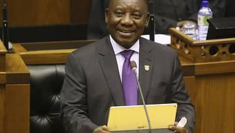 Nach Machtwechsel: Der neue Präsident Südafrikas Cyril Ramaphosa beruft am Montag zahlreiche neue Minister.
