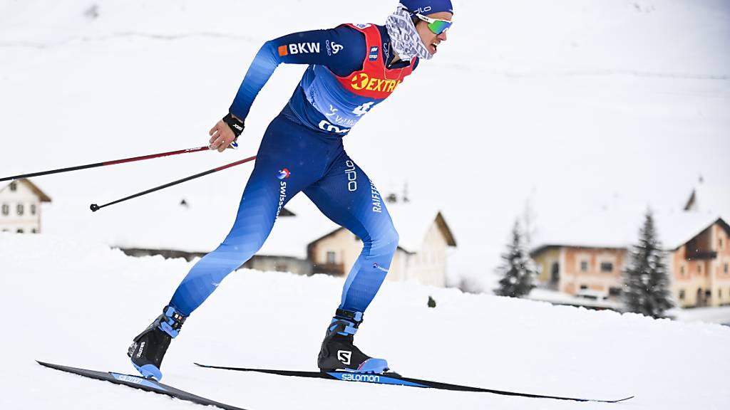 Dritter im Bunde der drei Schweizer, die noch um zwei WM-Plätze kämpfen ist der Schwyzer Roman Schaad