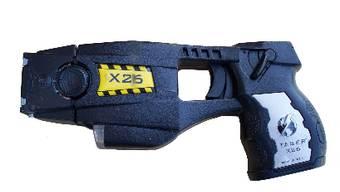 Die Taser-Pistole – Sie kommt immer mehr zum Einsatz