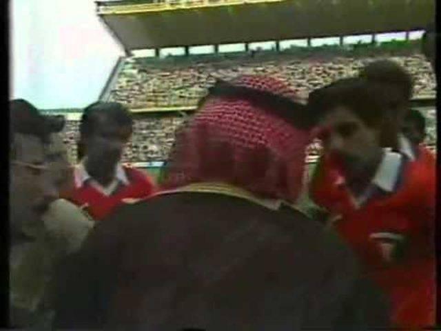WM 1982: Kuwait verlässt den Platz gegen Frankreich vorzeitig.