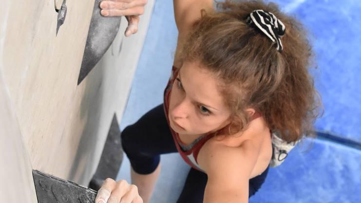 Annalisa Tognon (Langnau a.A.) zeigte im Final eine starke Leistung und wurde in Pratteln Vize-Schweizer Meisterin