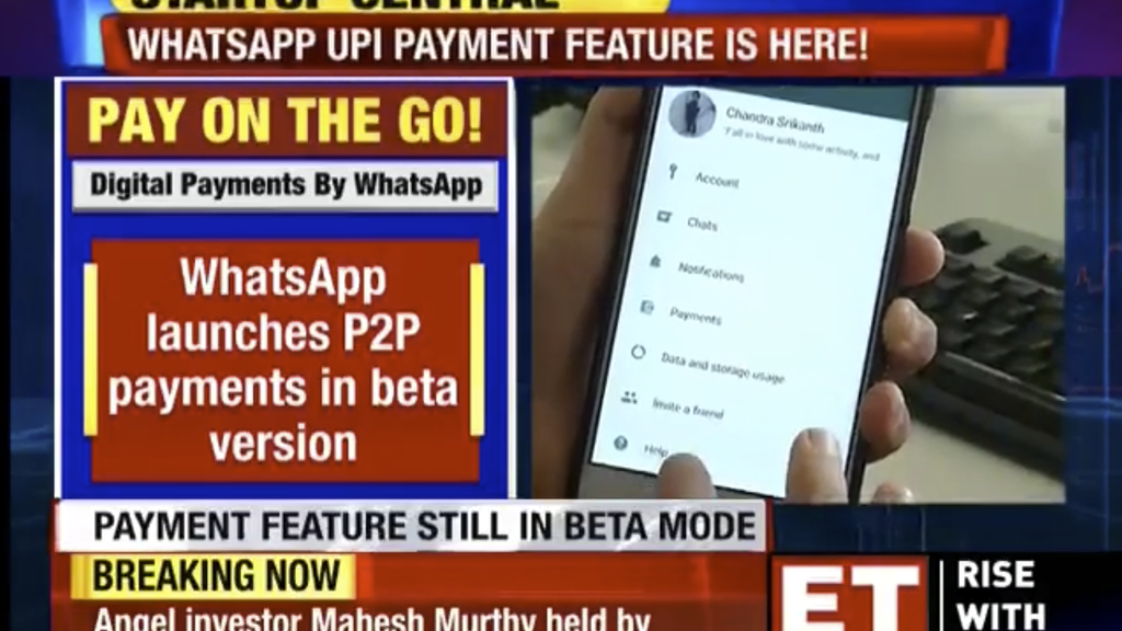 Vernetzt: WhatsApp mit Zahlungsfunktion in Indien