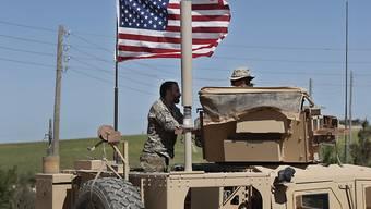 Die US-geführte Koalition gibt den Beginn des Abzugs aus Syrien bekannt. (Archivbild)