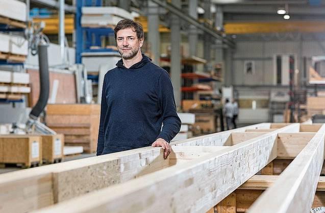 Seit letztem Oktober der Chef in Stein: Geschäftsführer Patrick Suter.